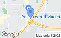 Map of Lakewood, WA