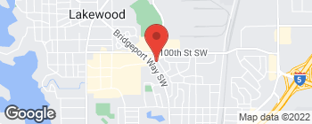 Map of 10025 Lakewood Dr SW in Lakewood