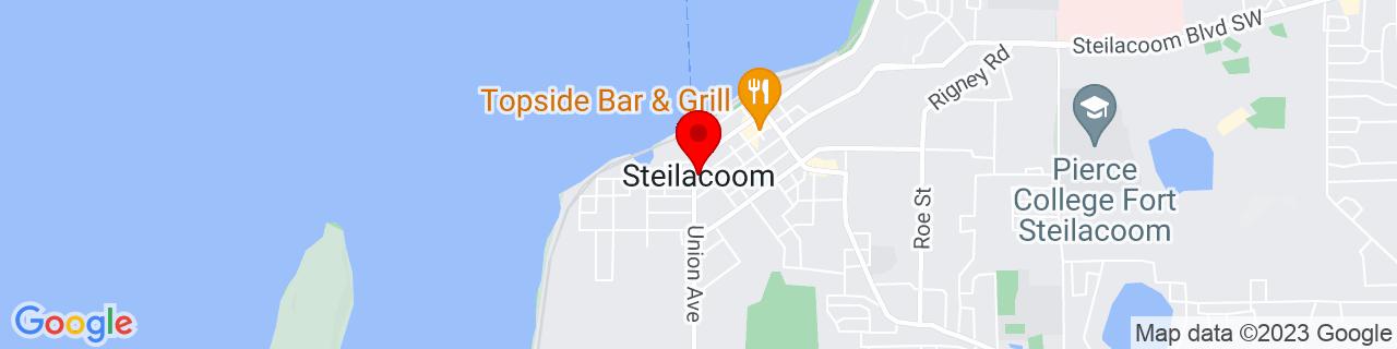 Google Map of 47.1698197, -122.6026274