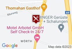Gasthof Binder - Hauptmannwirt - Karte