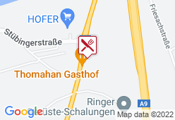 Gasthaus Thomahan - Karte