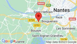 Carte de localisation du centre de contrôle technique LA MONTAGNE