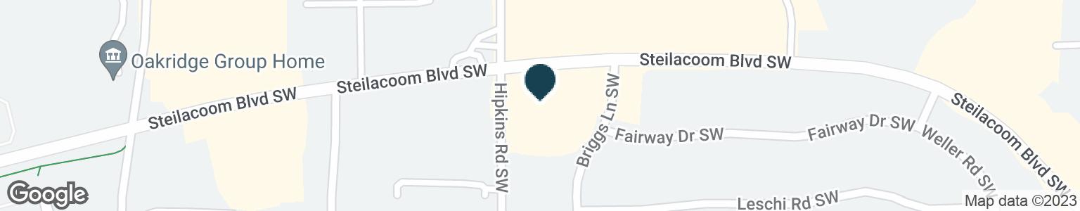 Google Map of8224 STEILACOOM BLVD SW
