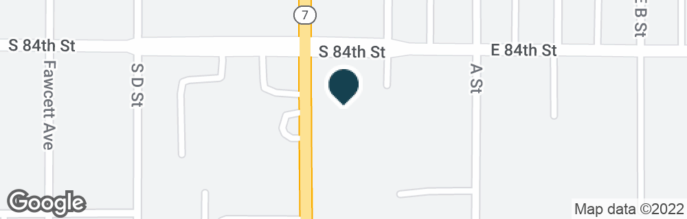Google Map of8405 PACIFIC AVE
