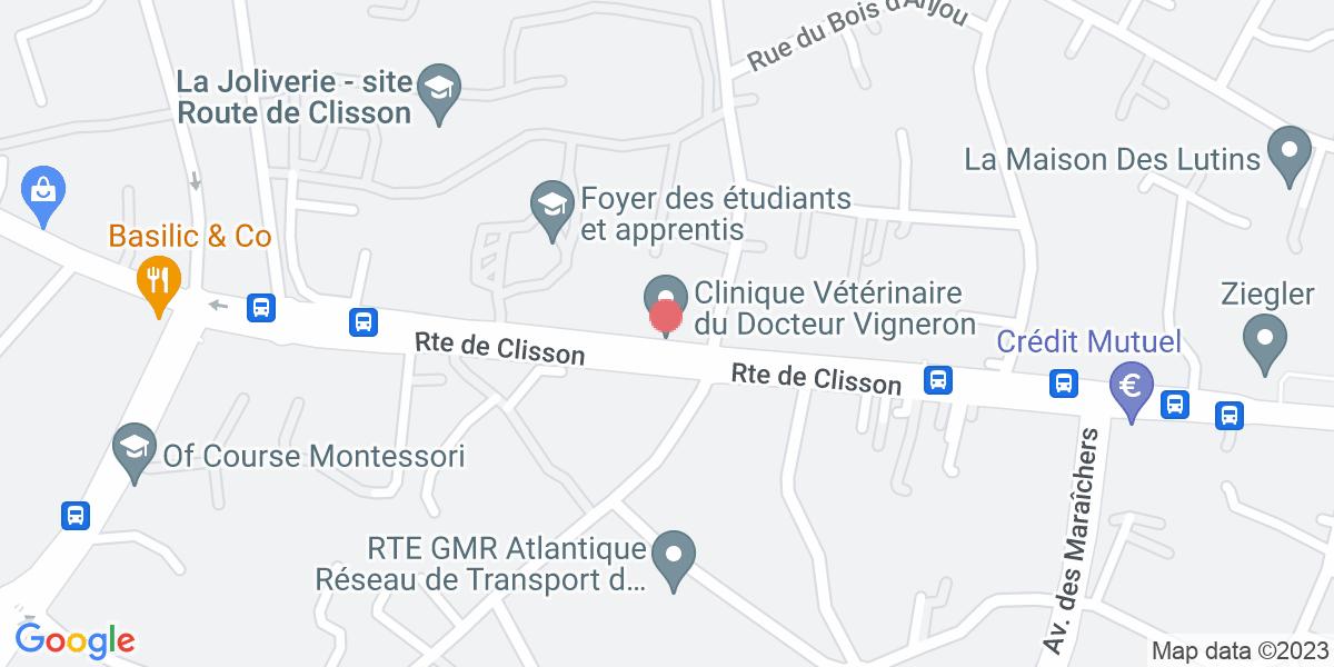 Plan de la clinique