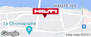 Get directions to Espace Hilti - La Plateforme du Bâtiment - Nantes / Rezé