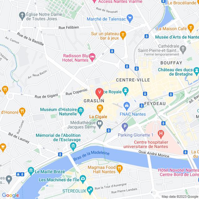4, Rue Voltaire, Nantes, 44000, Nantes, Pays de la Loire, France