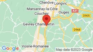 Carte de localisation du centre de contrôle technique GEVREY CHAMBERTIN