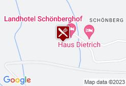 Landhotel Schönberghof - Karte