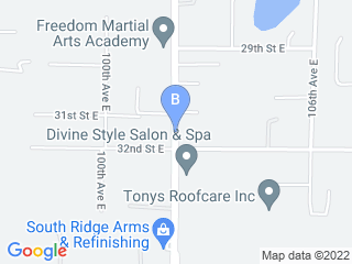 Map of Bark N Buddies Doggie Daycare Dog Boarding options in Edgewood | Boarding