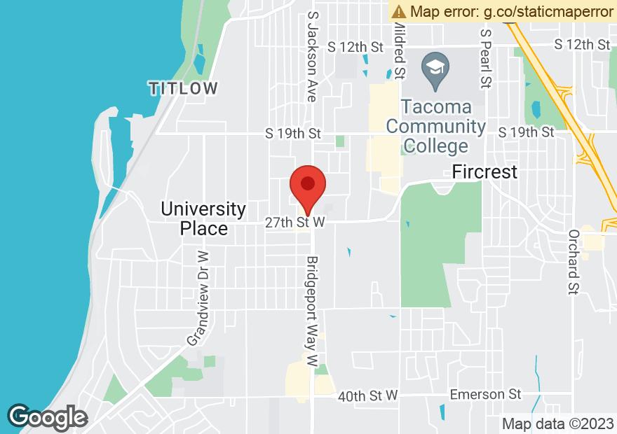 Google Map of 2650 BRIDGEPORT WAY W