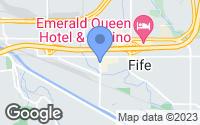 Map of Fife, WA