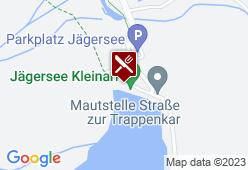 Gasthaus Jägersee - Karte