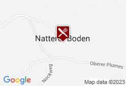 Wirtshaus Nattererboden - Karte