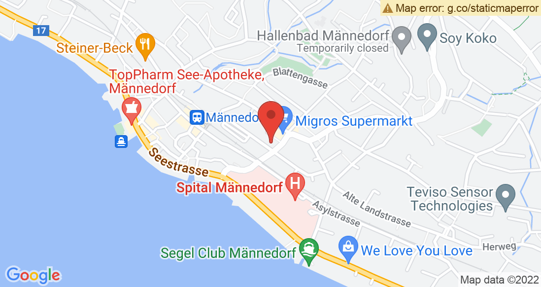 Google Map Chrigi's Sport Shop AG