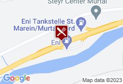 Eni Servicestation St. Marein Nord - Karte