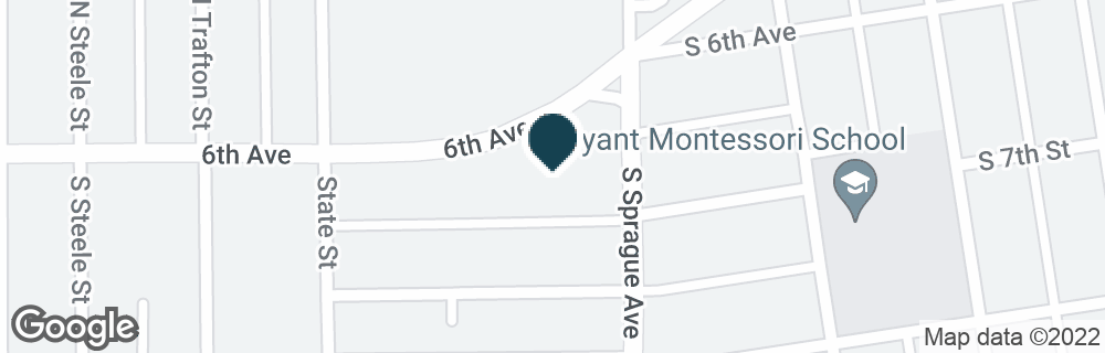 Google Map of2024 6TH AVE