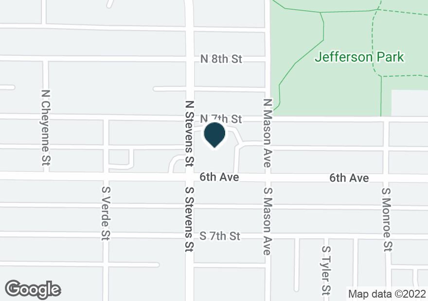 Google Map of4315 6TH AVE