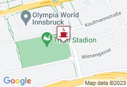 Testa Rossa caffèbar in Tivoli Stadion - Karte