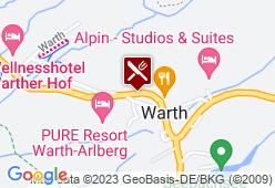 Wellnesshotel Wartherhof - Karte
