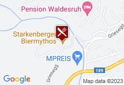 Schloss Stube auf Starkenberg - Karte