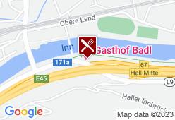 Gasthof Badl - Karte