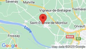 Carte de localisation du centre de contrôle technique SAINT ETIENNE DE MONTLUC