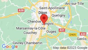 Carte de localisation du centre de contrôle technique LONGVIC