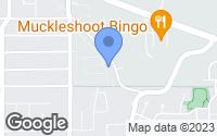 Map of Auburn, WA