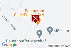 Arzler Schiessstand - Karte