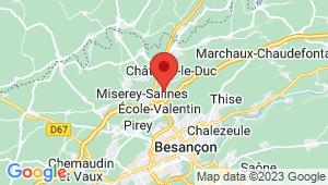 Carte de localisation du centre de contrôle technique CHATILLON LE DUC