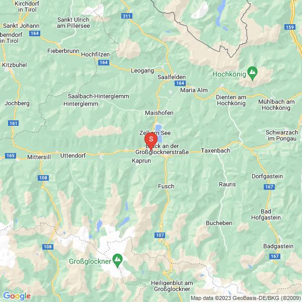 Fallschirmspringen in Zell am See im Salzburger Land