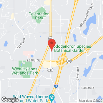 Map of Arby's at 34404 16th Avenue, South, Federal Way, WA 98003