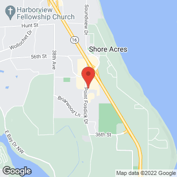 Map of Panera Bread at 4751 Point Fosdick Dr NW, Gig Harbor, WA 98335