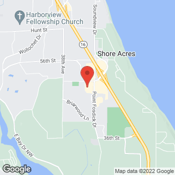 Map of Rite Aid at 4818 Point Fosdick Dr NW, Gig Harbor, WA 98335