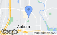 Map of Auburn, WA