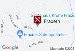 Gasthaus Krone - Karte