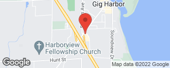 Map of 6950 Kimball Dr in Gig Harbor
