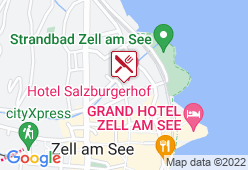 Hotel Salzburgerhof - Karte