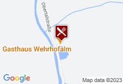 Wehrhofalm - Karte