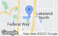 Map of Federal Way, WA