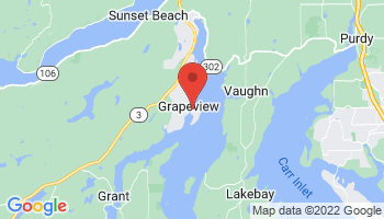 Map of Grapeview