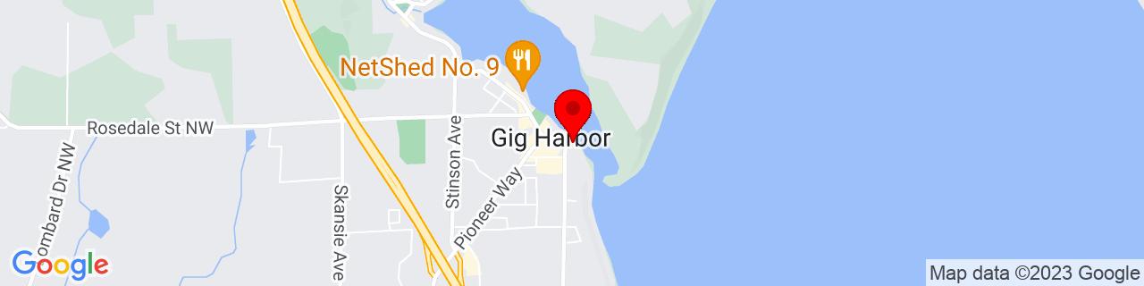 Google Map of 47.328941, -122.578022