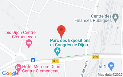 Parc des Expositions et Congrès de Dijon Centre Clemenceau3, boulevard de Champagne