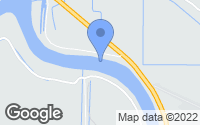 Map of Saint Maries, ID