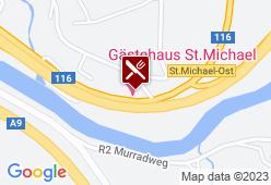 Gästehaus Zechner - Karte