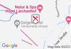 Schmankerl Alm - Karte