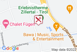 Restaurant Erlebnistherme Zillertal - Karte