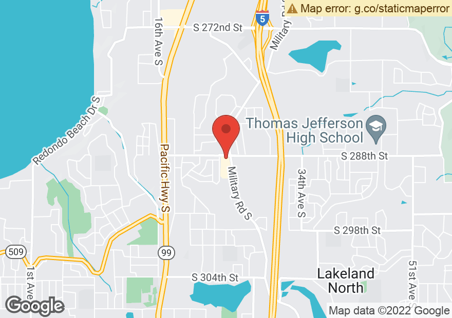 Google Map of 28817 MILITARY RD S