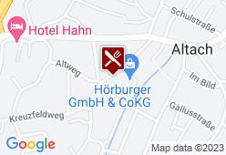 Gasthof Sonne - Karte
